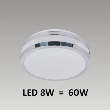 LED Stropní koupelnové svítidlo NORD 1xLED/8W