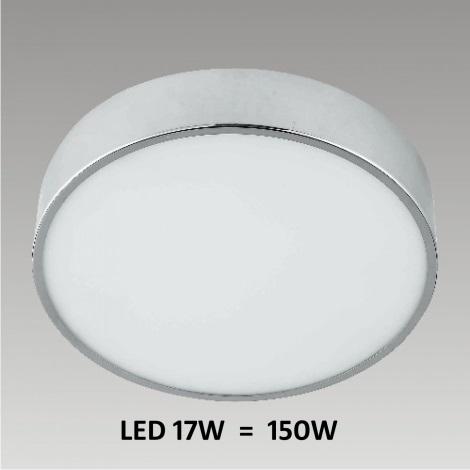LED Stropní / nástěnné koupelnové svítidlo ELBA 1xLED/17W