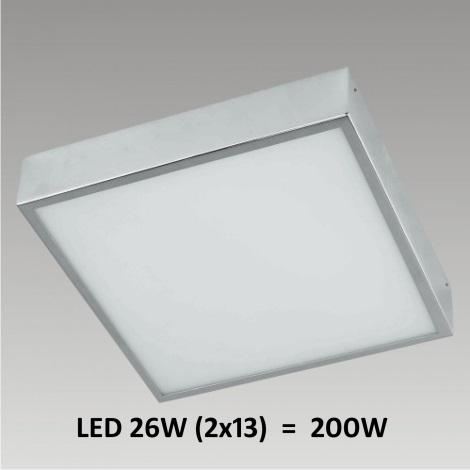 LED Stropní / nástěnné koupelnové svítidlo FALCON 2xLED/13W