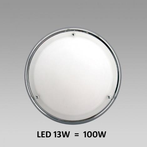 LED Stropní / nástěnné koupelnové svítidlo NEPTUN 1xLED/13W chrom