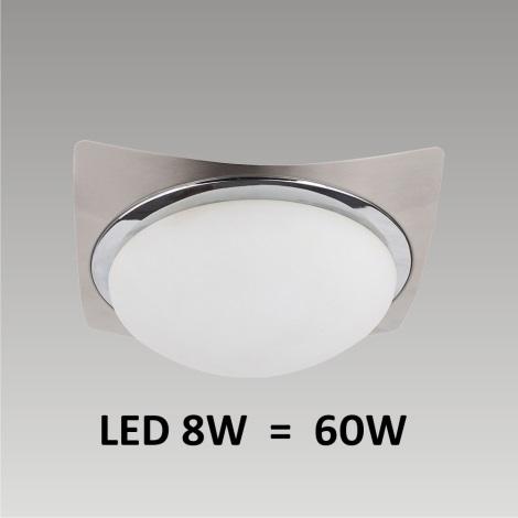 LED Stropní / nástěnné svítidlo LENS 1xLED/8W 170mm