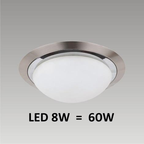 LED Stropní / nástěnné svítidlo LENS 1xLED/8W 185mm