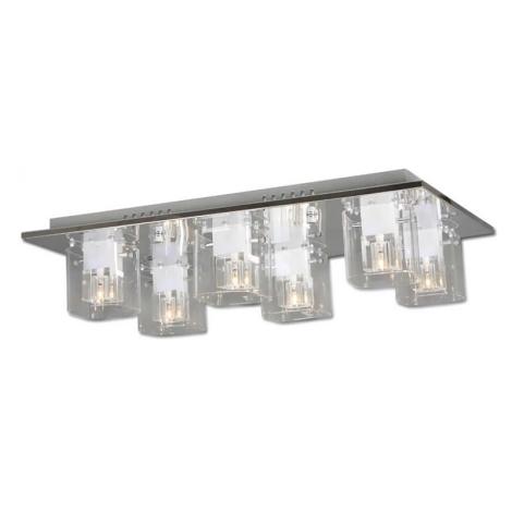 LED stropní svítidlo INES 6xG4/20W + LED
