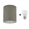 LED Stropní svítidlo JUPITER 1xE27/6W/230V 120x98 mm