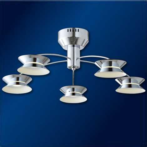 LED Stropní svítidlo LUGANO 5 5xLED/3W