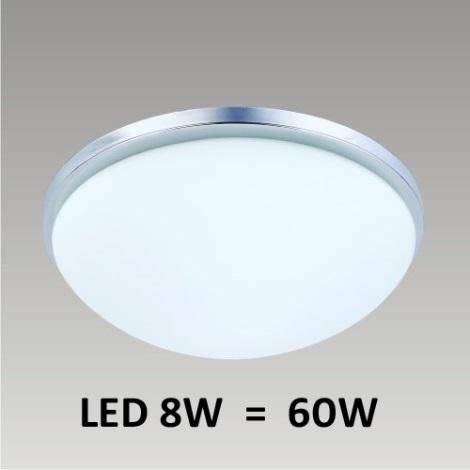 LED Stropní svítidlo PERI 1xLED/8W chrom