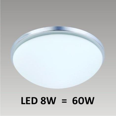 LED Stropní svítidlo PERI 1xLED/8W matný nikl