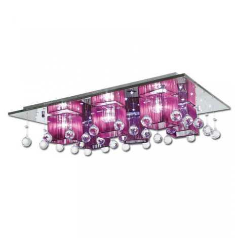 LED stropní svítidlo ROYAL 6xG4/20W + LED