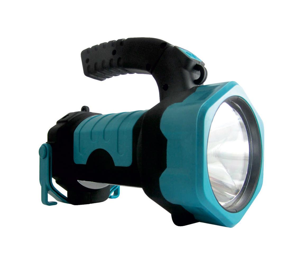 Baterie centrum LED Svítilna LED+COB/3W/3xAA zelená
