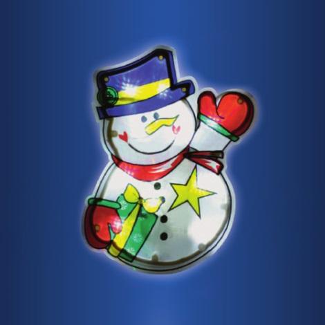 LED vánoční dekorace do okna 10xLED/3xAAA
