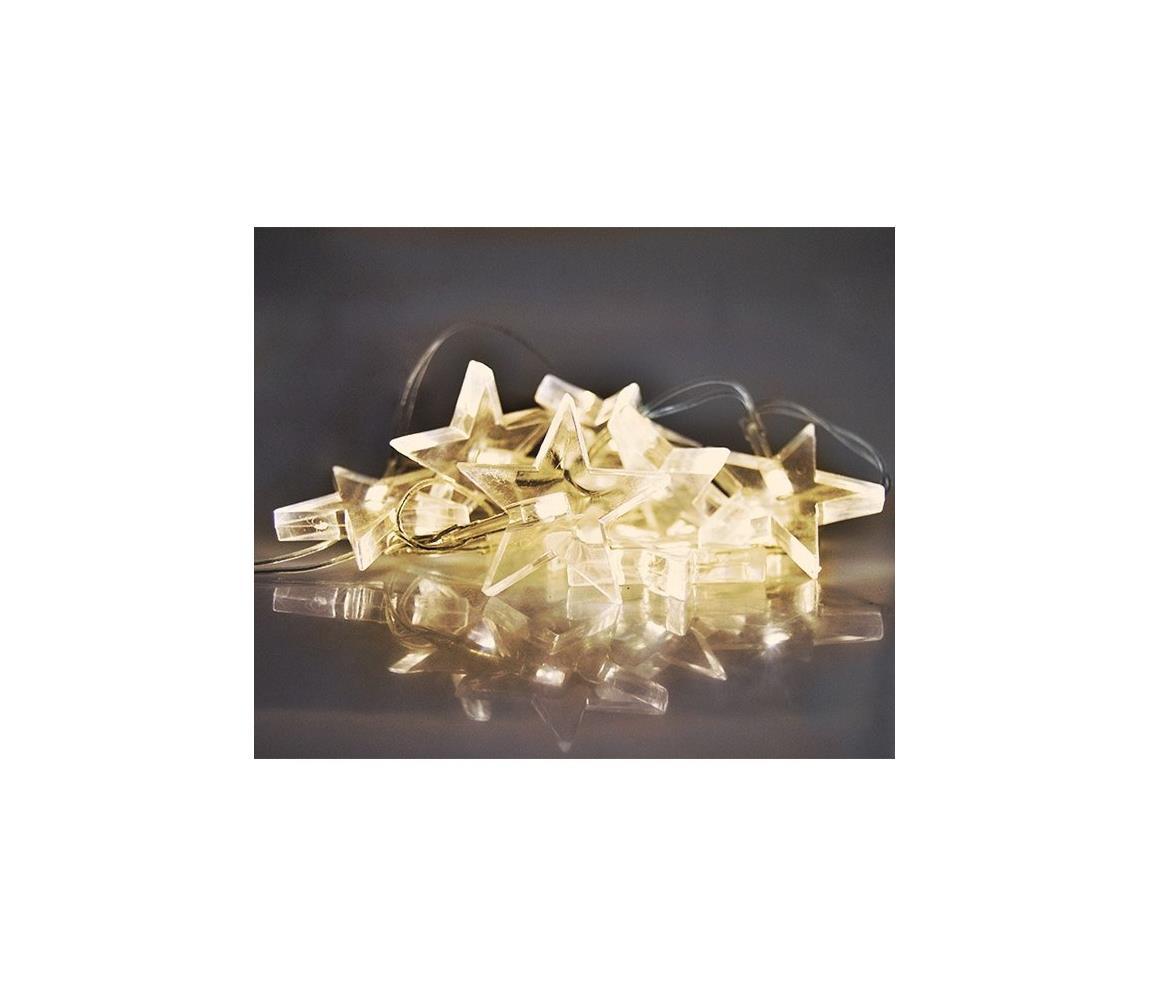 Solight LED Vánoční řetěz 1,5 m 10xLED/2xAA SL0923