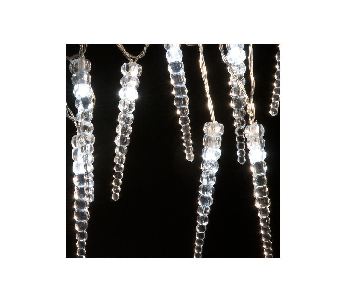 Exihand LED Vánoční řetěz ICICLE 0,9 m 10xLED/230V/24V