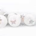 LED Vánoční řetěz koule 1 m 10xLED/2xAA