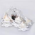 LED Vánoční řetěz stromky 1 m 10xLED/2xAA