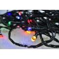 LED Vánoční venkovní řetěz 200xLED/230V IP44 25 m barevný