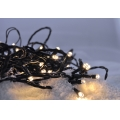 LED Vánoční venkovní řetěz 8 m 50xLED/3xAA teplá bílá IP44