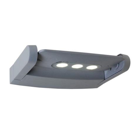 LED venkovní nástěnné svítidlo AWAX 3xLED/3W/230V