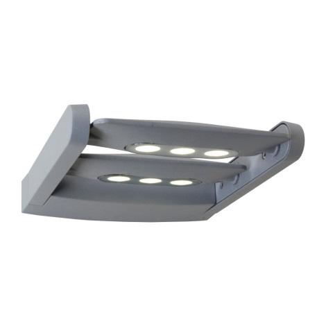 LED venkovní nástěnné svítidlo AWAX 6xLED/3W/230V