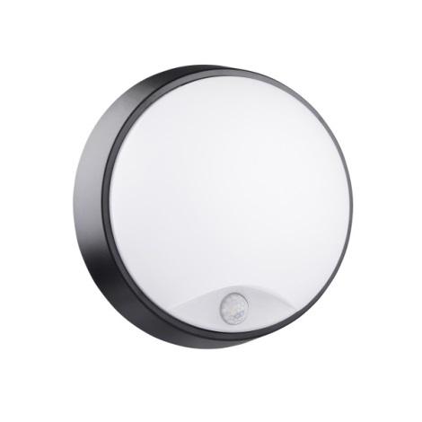 LED Venkovní nástěnné svítidlo se senzorem BULKHEAD LED/14W/230V IP54