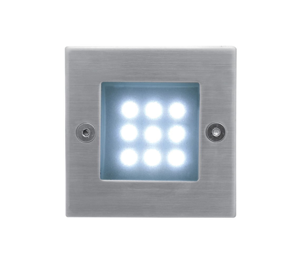 Panlux ID-B04/S - LED venkovní osvětlení INDEX 9 LED 1x9LED/0,5W/230V