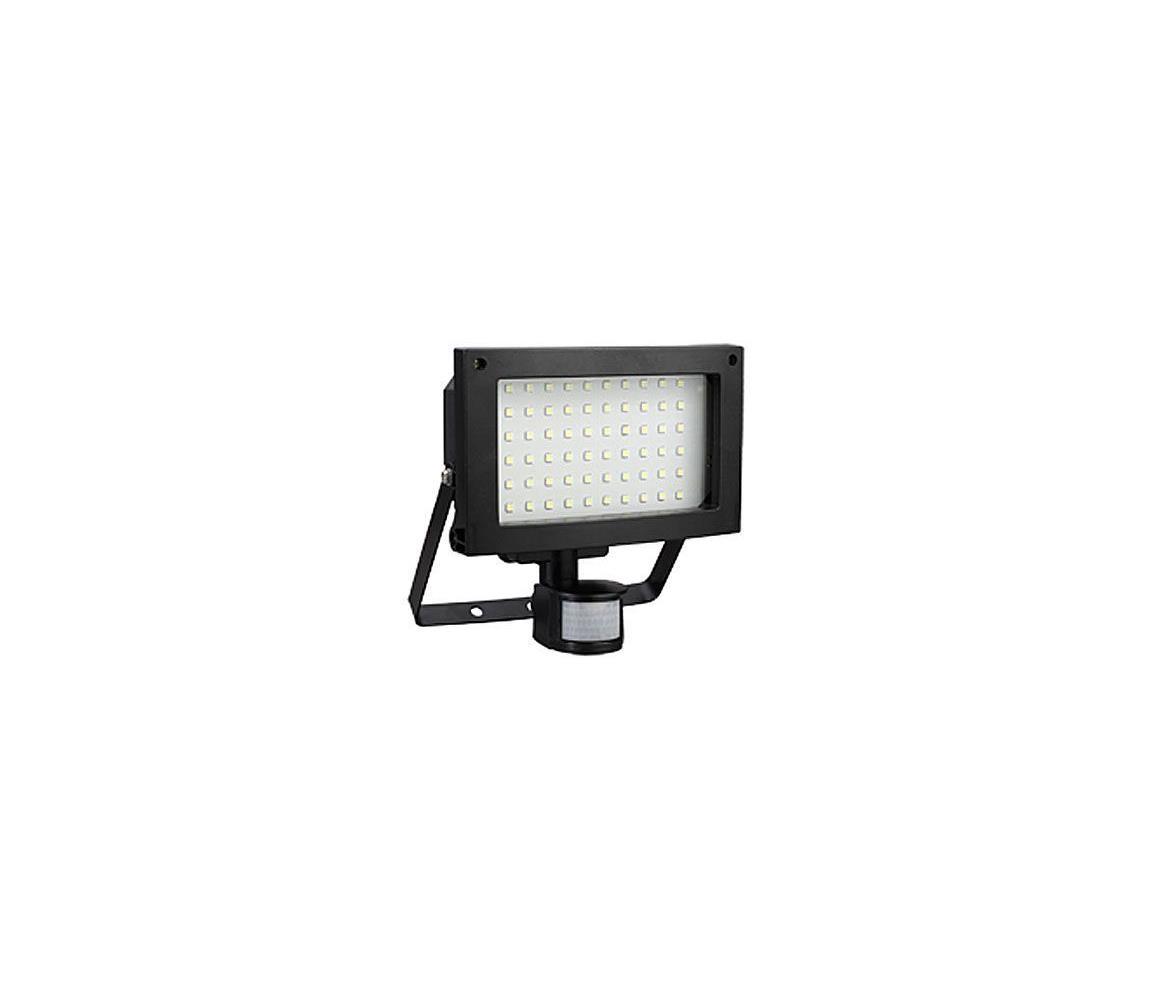 Hadex LED Venkovní reflektor s PIR čidlem T275 60xLED SMD/12W IP44 HD0021