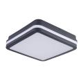 LED Venkovní stropní svítidlo BENO LED/18W/230V IP54 antracit