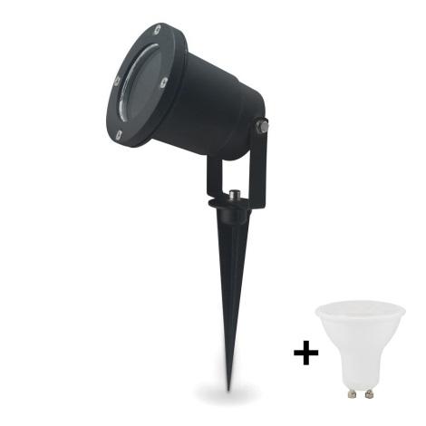 LED Venkovní svítidlo BLAKE 2 GU10/4W/230V IP65