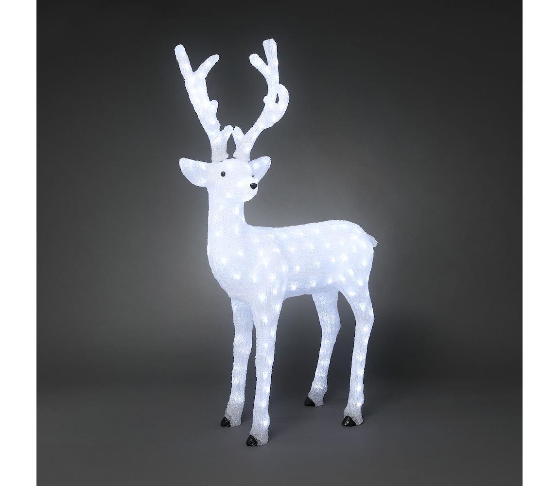 Exihand LED Venkovní vánoční dekorace DEER 184xLED/230V/24V IP44