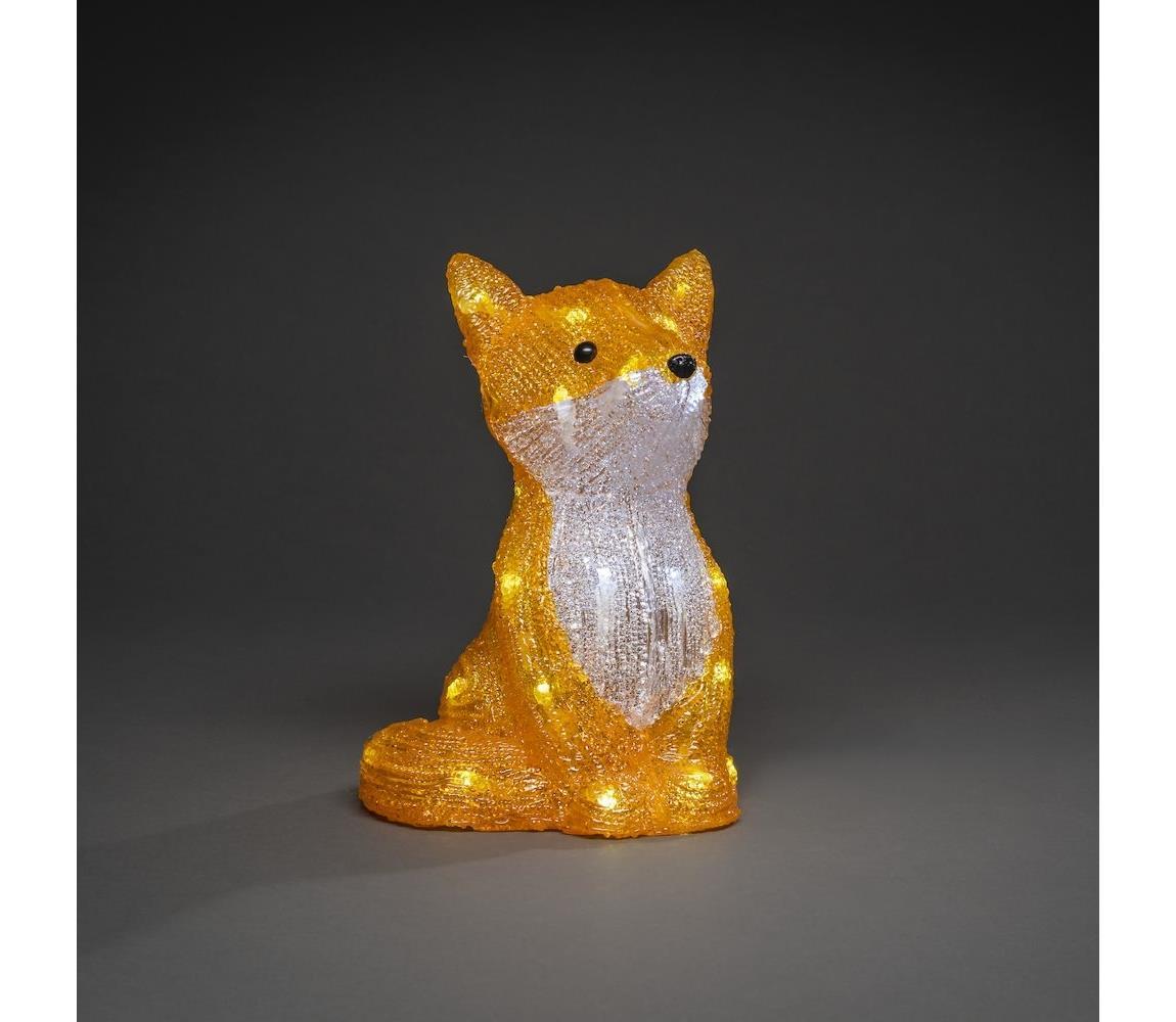 Exihand LED Venkovní vánoční dekorace FOX 32xLED/230V/24V IP44