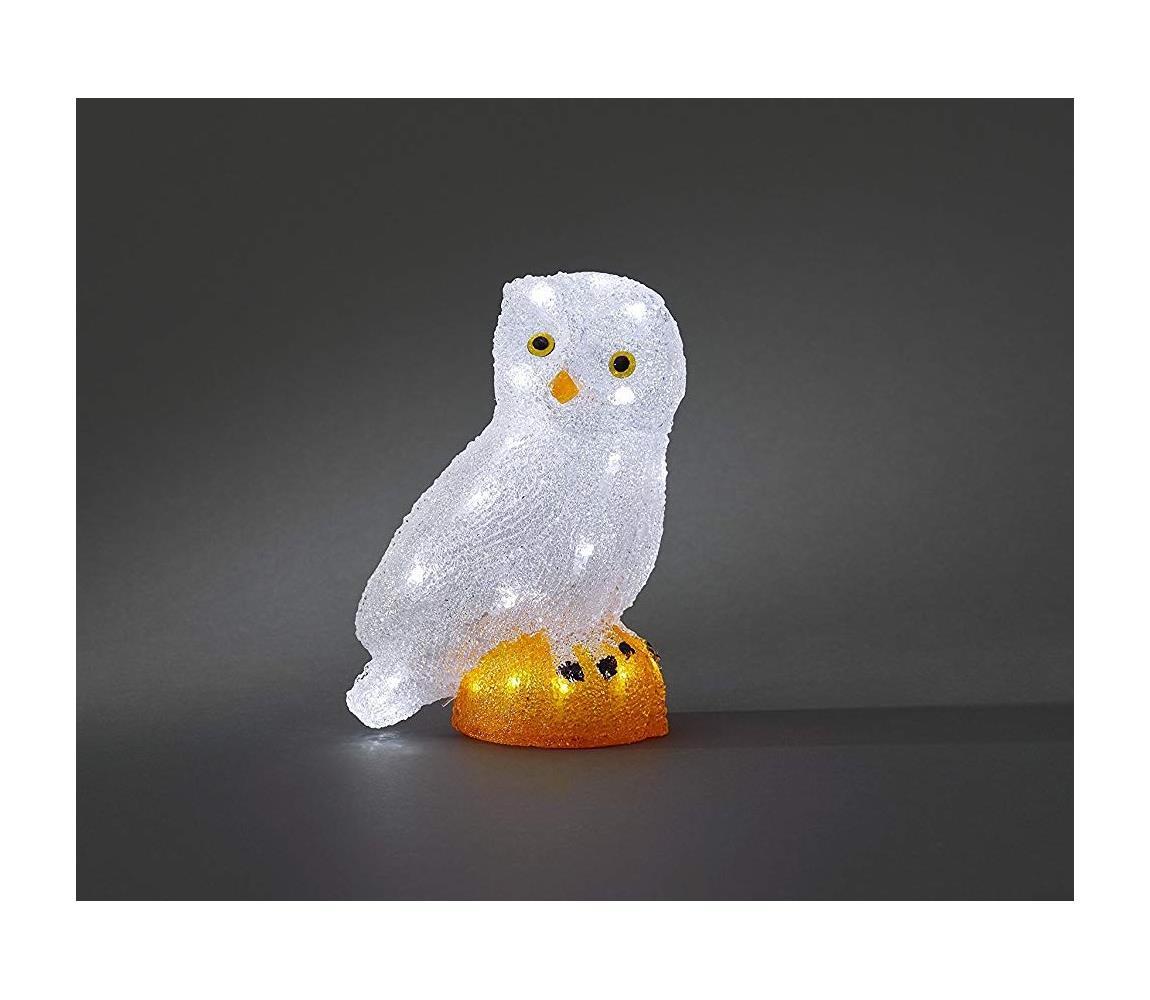 Exihand LED Venkovní vánoční dekorace OWL 32xLED/230V/24V IP44