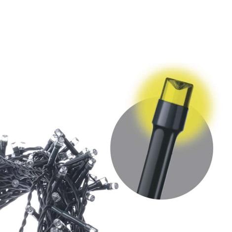 LED Venkovní vánoční řetěz 8,4m 120xLED/0,9W/3xAA IP44