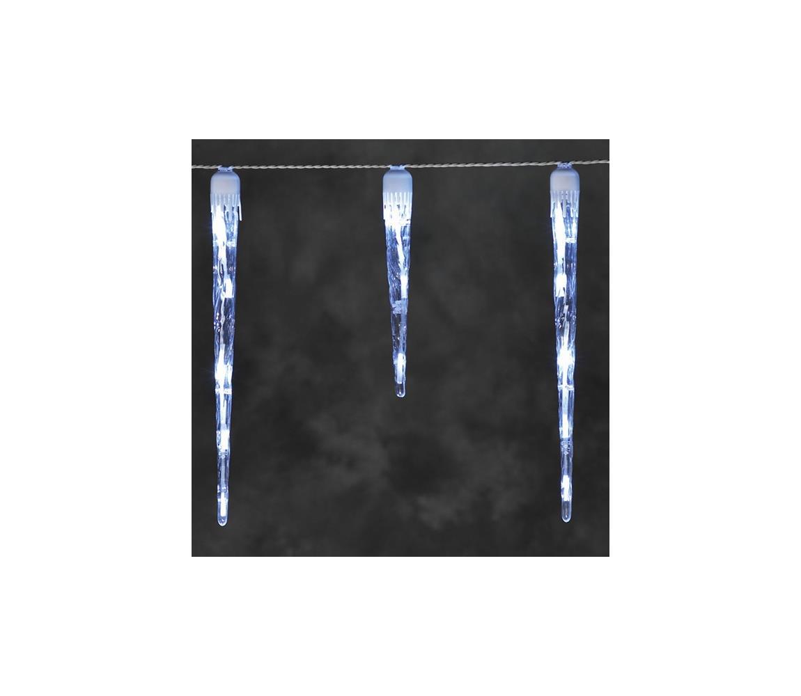 Exihand LED Venkovní vánoční řetěz ICICLE 3,75 m 16xLED/230V/24V 6000K IP44
