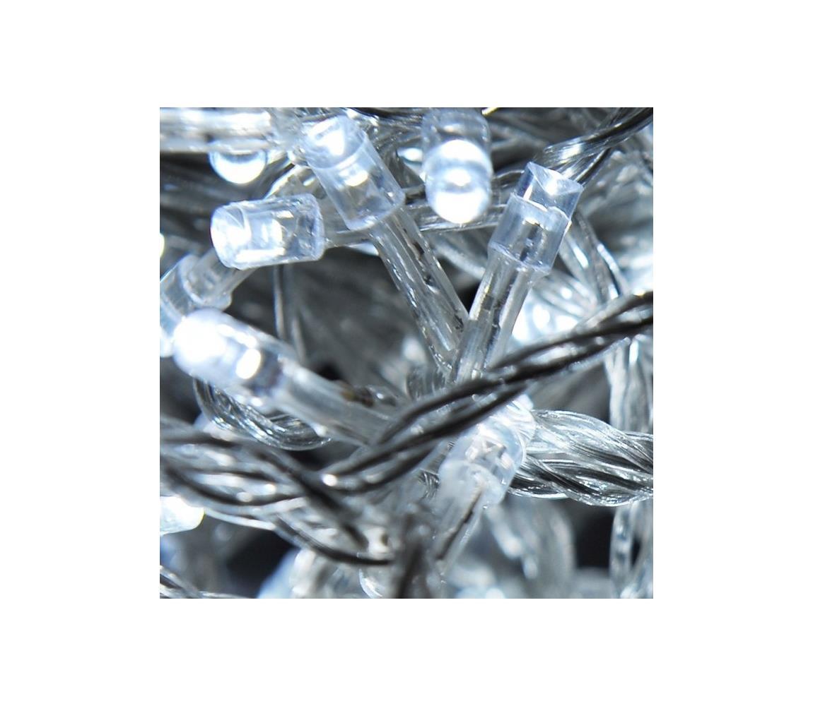 Exihand LED Venkovní vánoční řetěz jiskřící 30 m 200xLED/230V/24V IP44