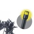 LED Venkovní vánoční řetěz spojovací STANDARD 2m 100xLED/1,2W/230V IP44