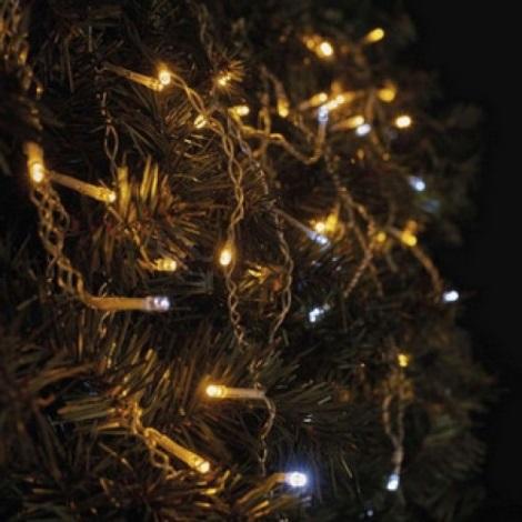 LED Venkovní vánoční řetěz STANDART 2,5 m 100xLED/1,2W/230V IP44