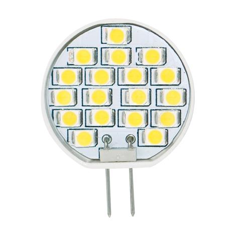 LED žárovka 1W LED18 SMD 2835 JC teplá bílá - GXLZ083