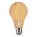 LED Žárovka CLASIC AMBER A60 E27/10W/230V 2200K - Brilagi