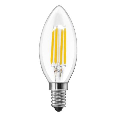 LED Žárovka CLASIC ONE C35 E14/6W/230V 3000K - Brilagi