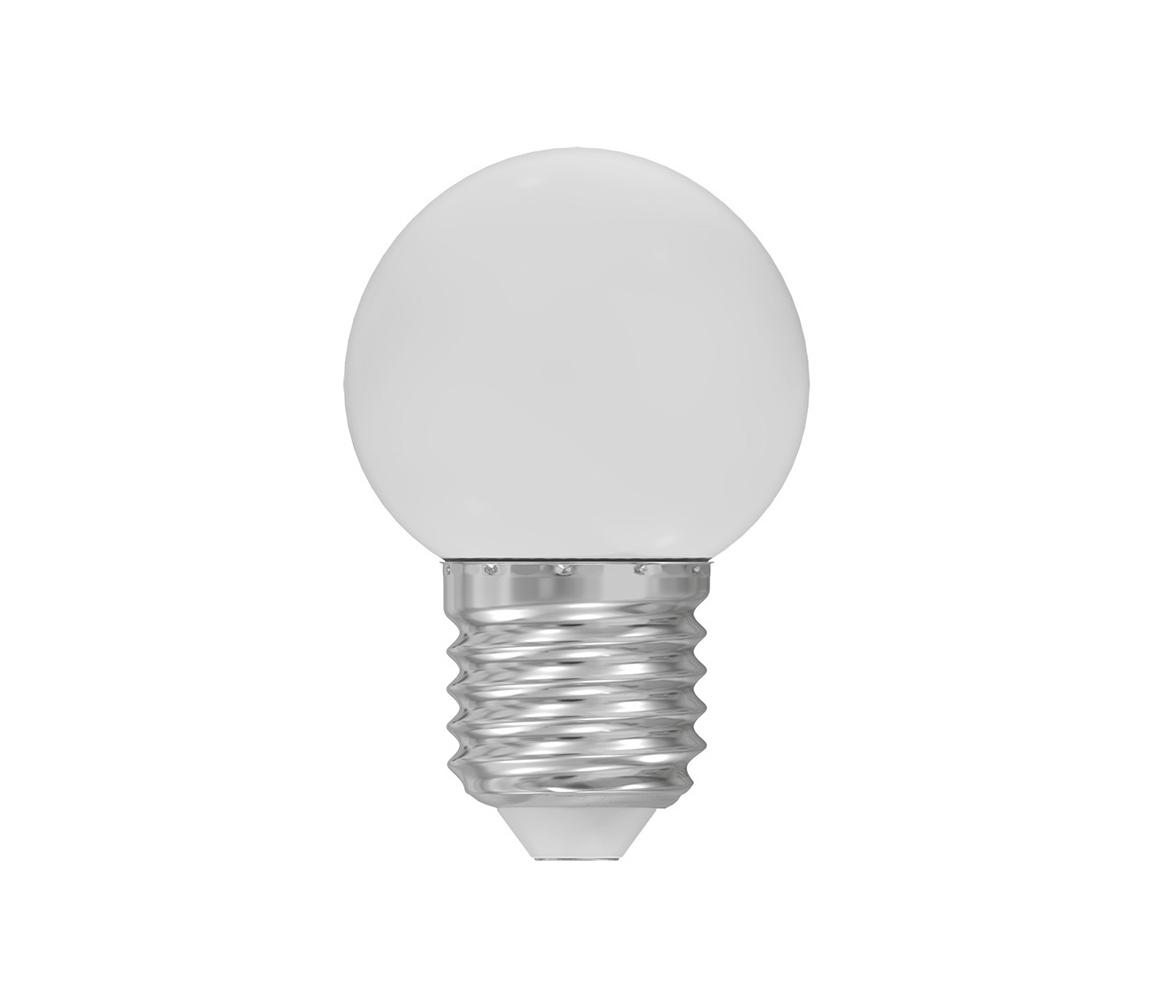 Wojnarowscy LED žárovka E27/1W/230V bílá