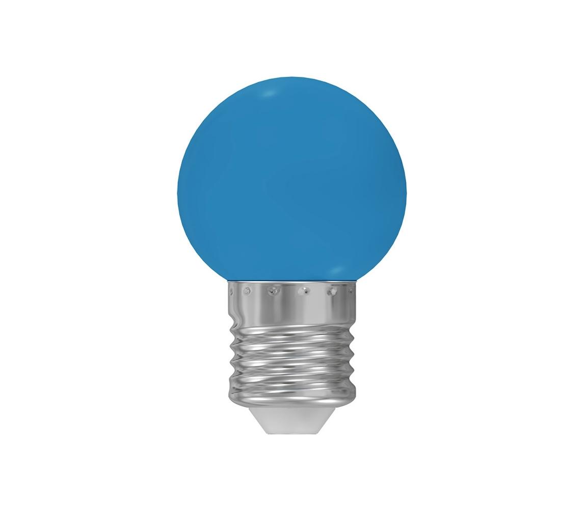 Wojnarowscy LED žárovka E27/1W/230V modrá