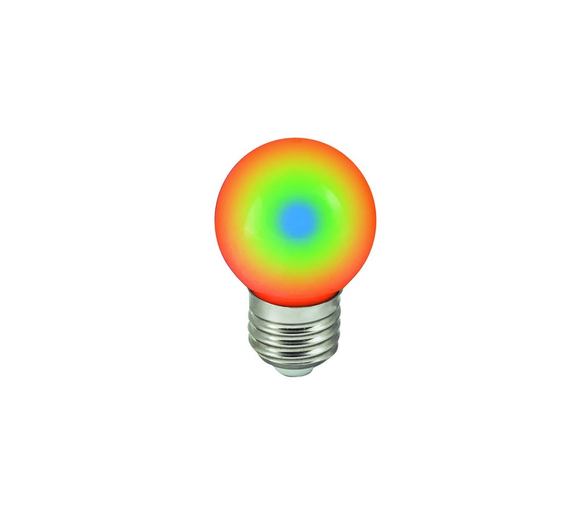 Wojnarowscy LED žárovka E27/1W/230V RGB