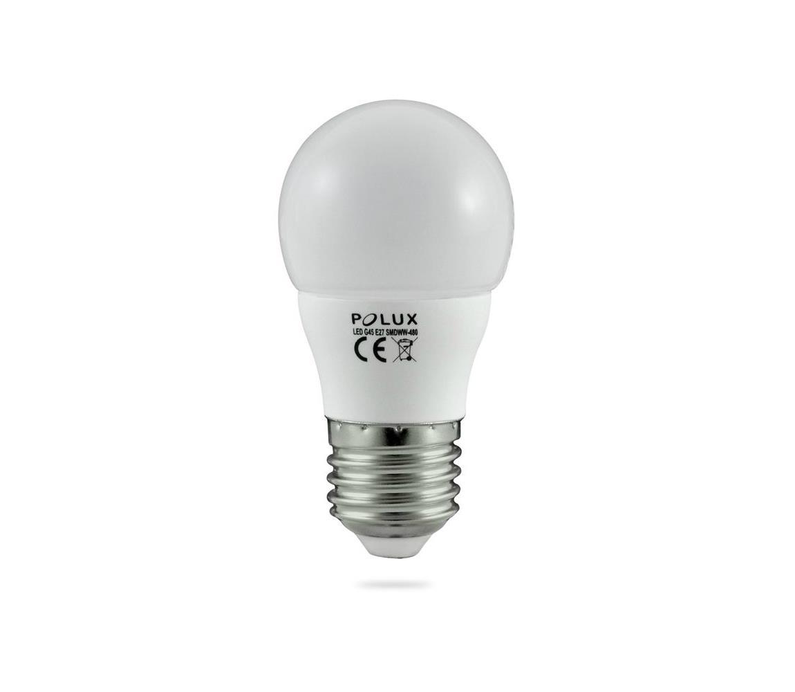 Polux LED žárovka E27/5,5W/230V