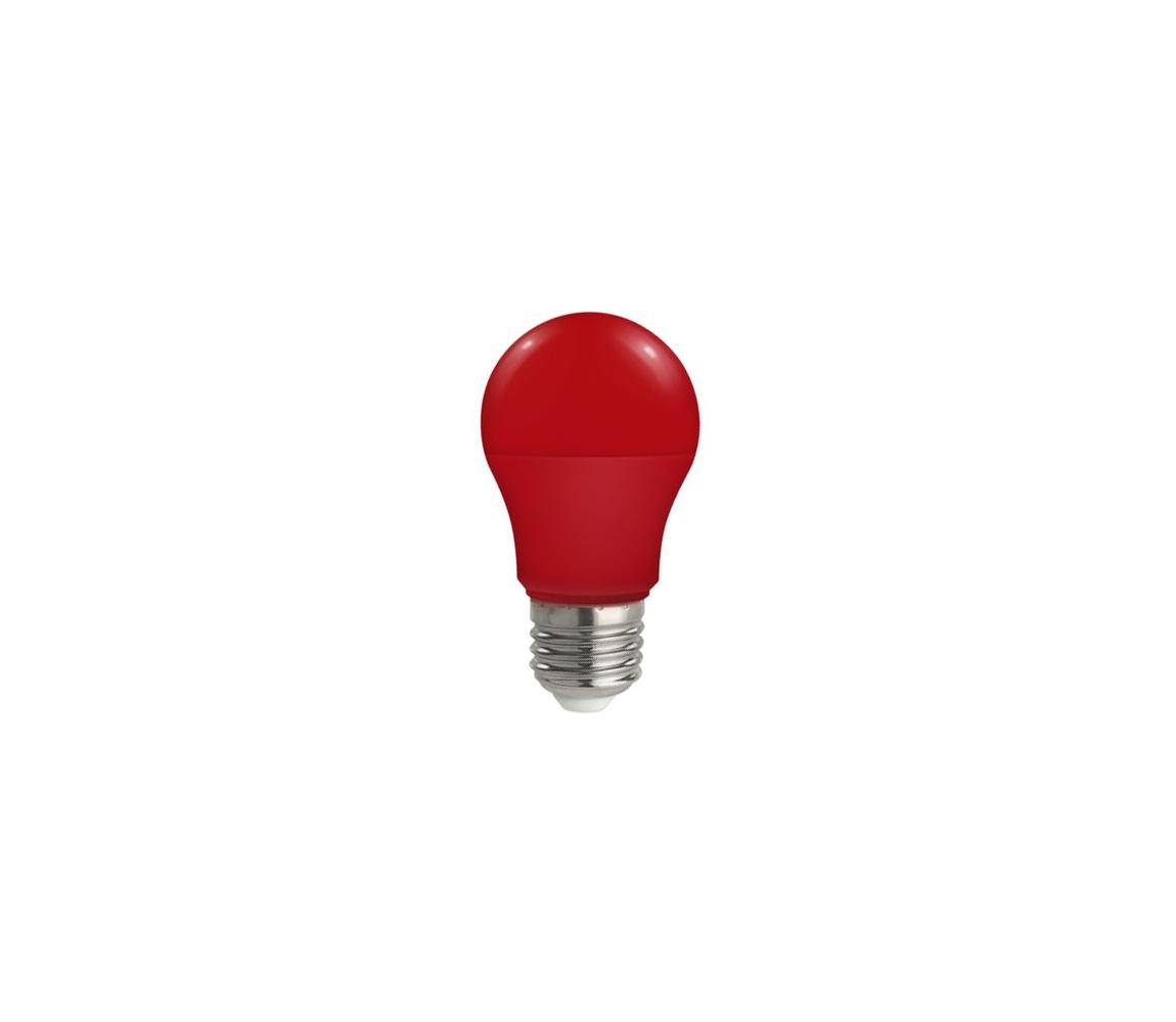 Wojnarowscy LED žárovka E27/5W/230V červená