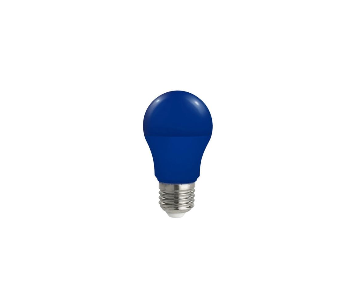 Wojnarowscy LED žárovka E27/5W/230V modrá WJ0126