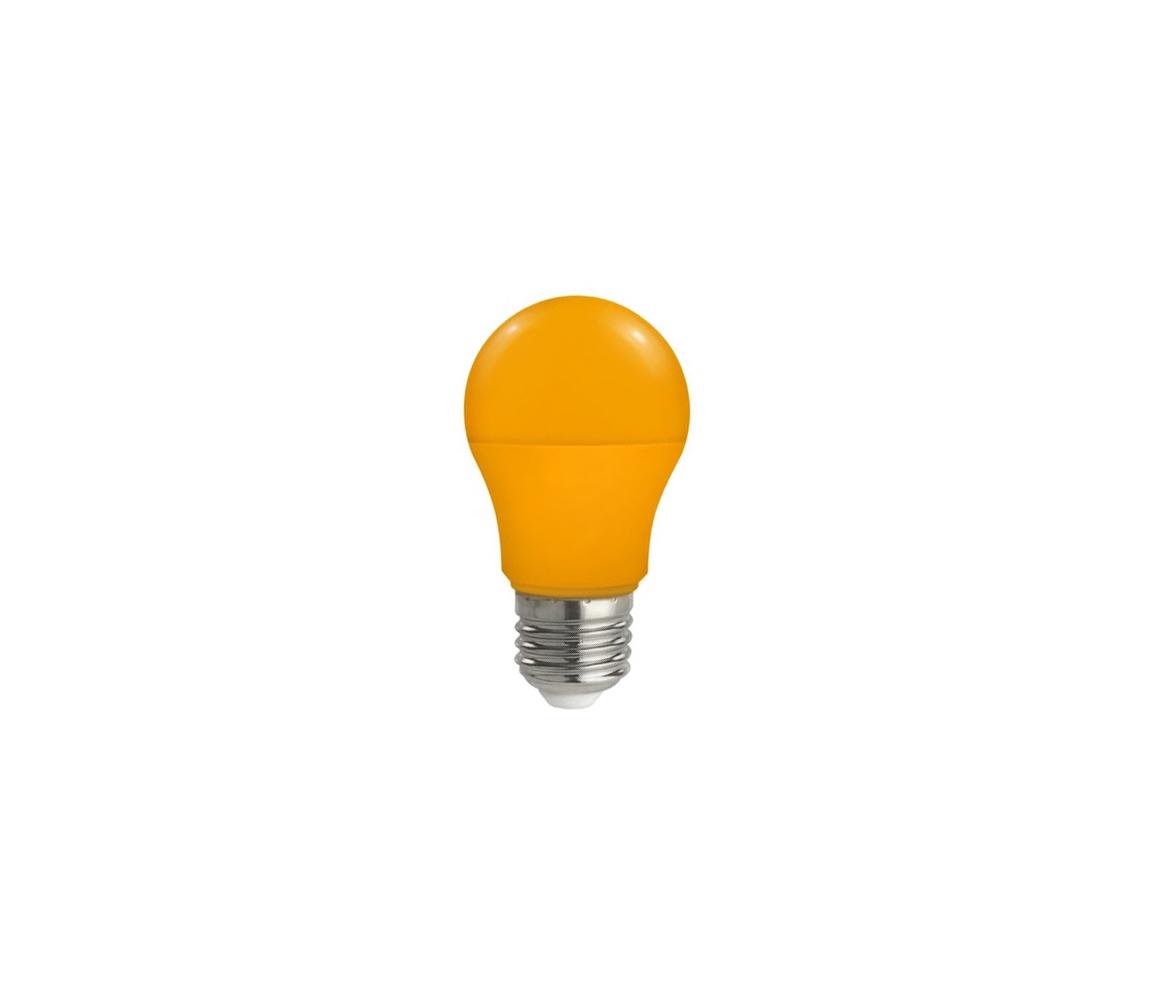 Wojnarowscy LED žárovka E27/5W/230V oranžová