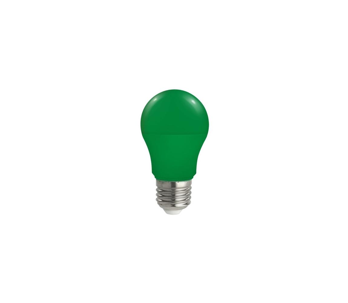 Wojnarowscy LED žárovka E27/5W/230V zelená