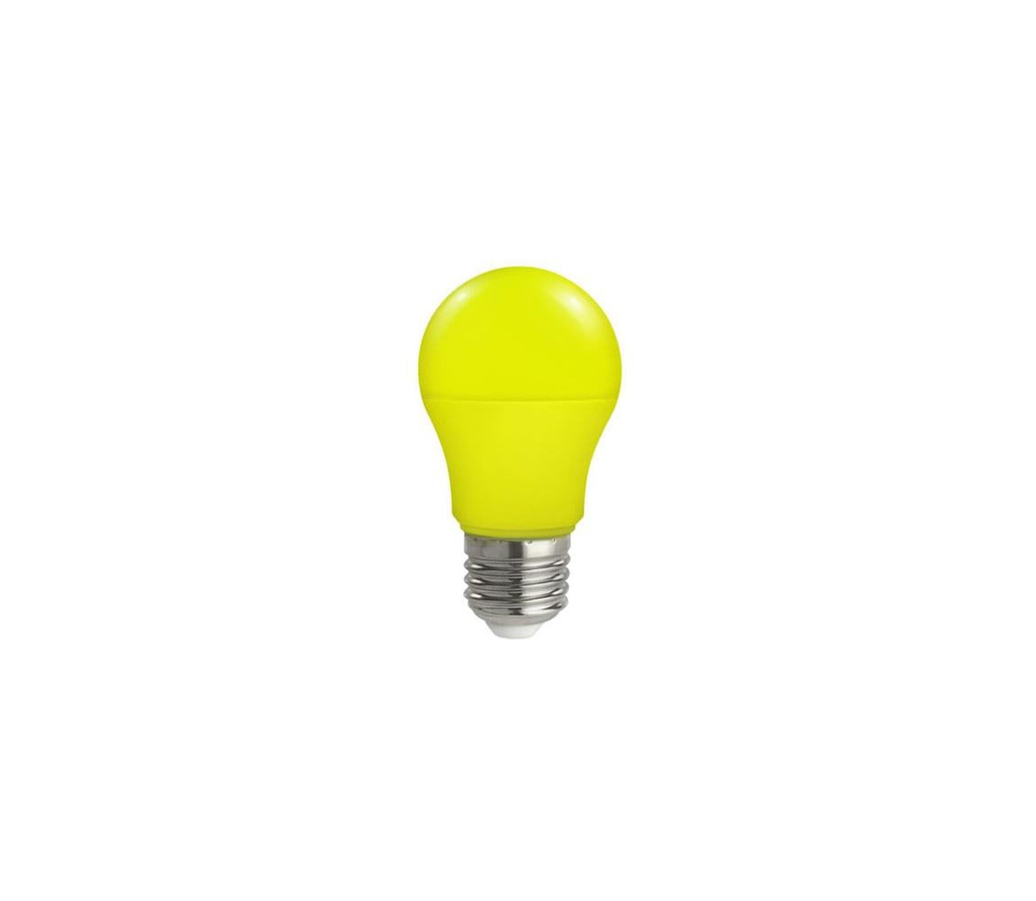 Wojnarowscy LED žárovka E27/5W/230V žlutá WJ0127