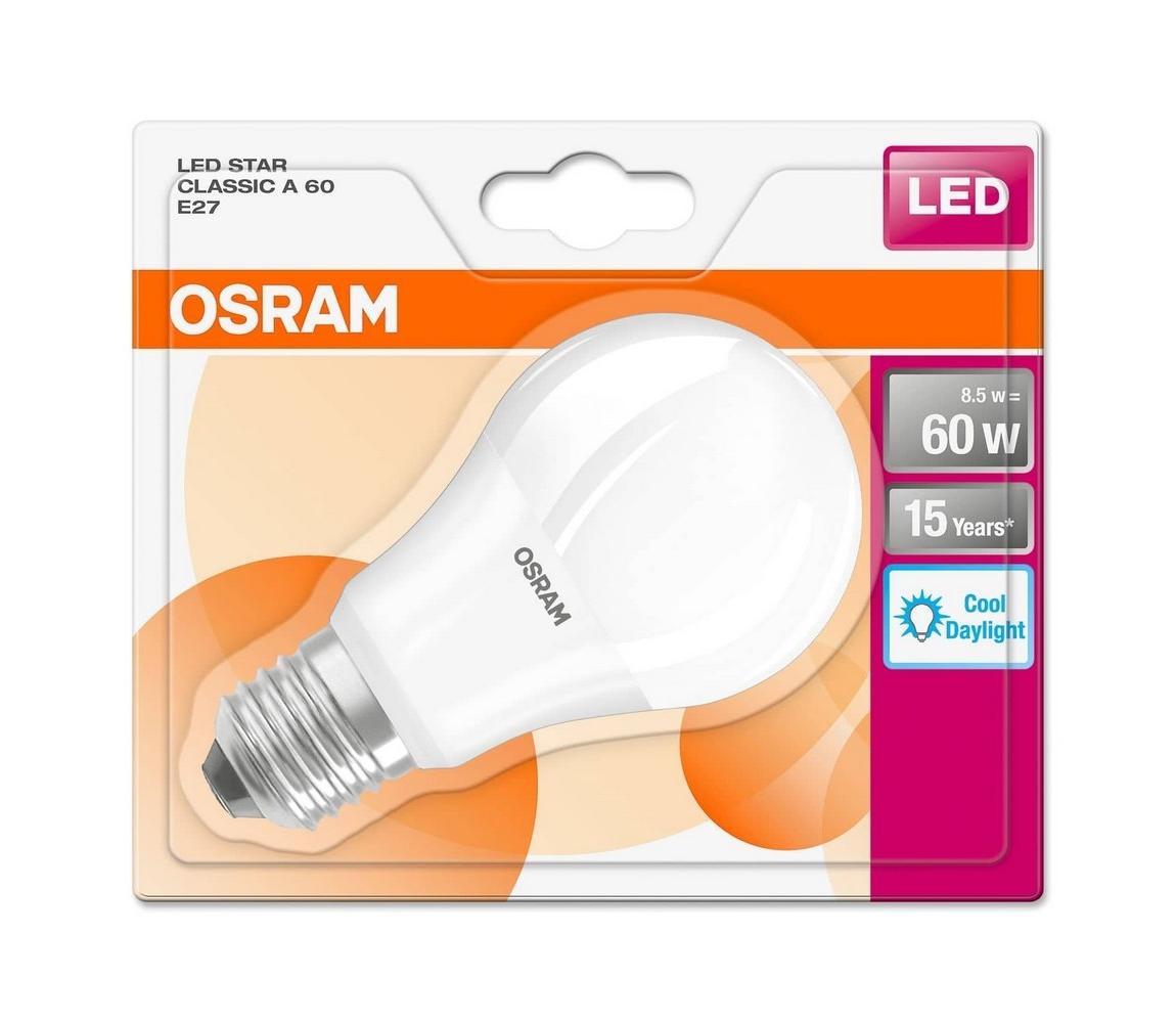 Osram LED Žárovka E27/8,5W/230V
