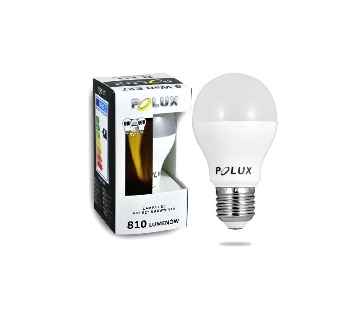 Polux LED Žárovka E27/9W/230V