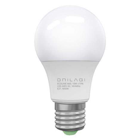 LED Žárovka ECOLINE A60 E27/10W/230V 4000K - Brilagi